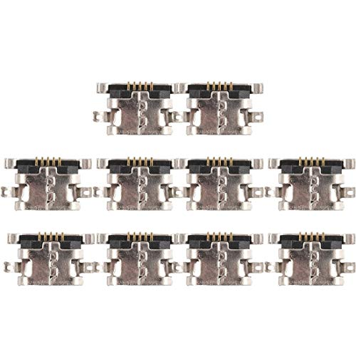 YGMO ZMD Aynn 10 PCS Conector de Puerto de Carga para xiao-mi redmi 6 Pro/redmi Note 4 / Redmi Note 4X / Redmi 4 Prime