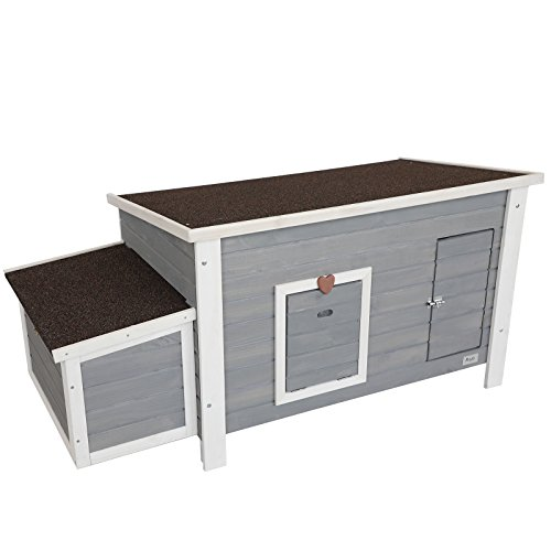 Petsfit Weatherproof Outdoor Chicken Coop with Nesting Box...