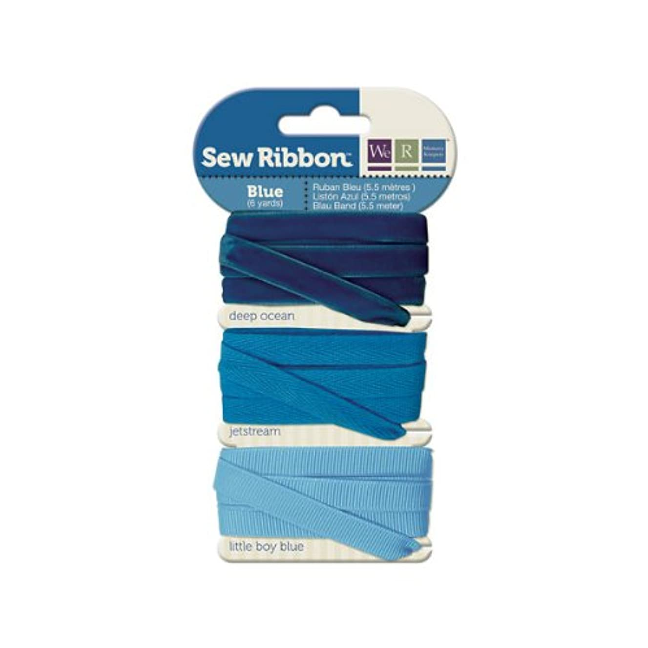 We R Memory Keepers Sew Ribbon, Blue