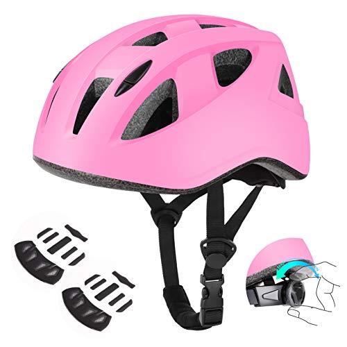 DaCool Kids Bike Helmet for 5~16 Ages Lightweight Toddler Youth Adjustable Cycling Skateboard Girl Helmet, Safety Sport Helmet for Child Bicycle Rollerblading Skating Roller Scooter Outdoor Sports