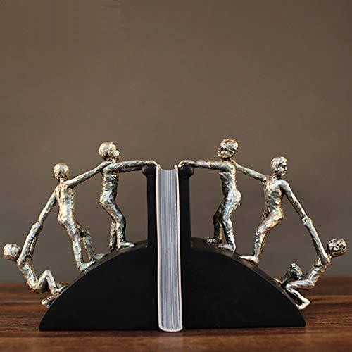 Lianlili Estilo Europeo Diseño Decoración for el hogar Adornos Libro de Personajes por El Estudio Muebles de Oficina Artesanía Adornos
