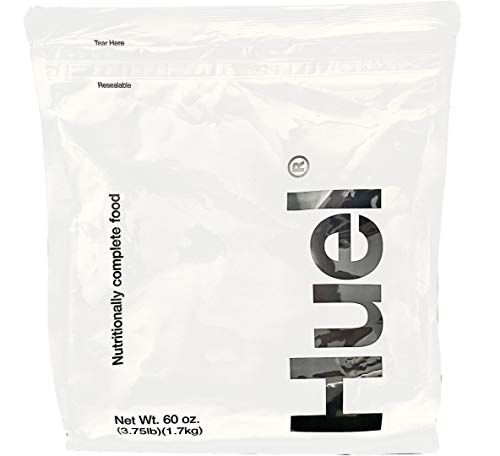 Huel Nutritionally Complete Food Powder - 100% Vegan Powdered Meal (1 Pouch - 3.75lb - 17 servings) (Vanilla)