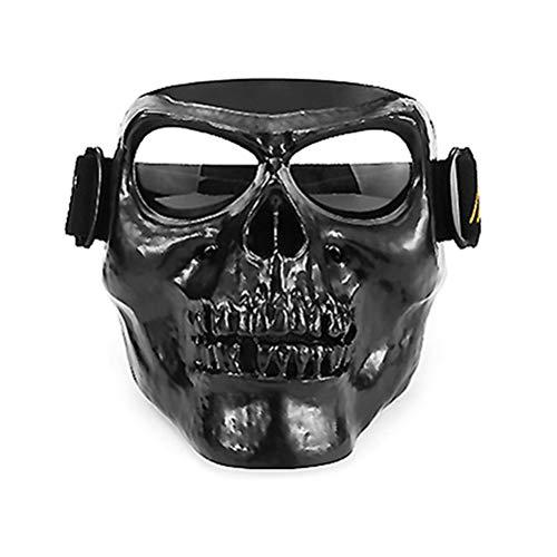 Schutzbrille Winddicht Offroad Staubdicht Reithelm Motorradbrille mit Brille