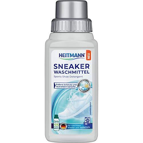 HEITMANN Sneaker Waschmittel 250 ml: Eignet sich Ideal für alle waschbaren Sneaker, sowie Sport- und Outdoorschuhe