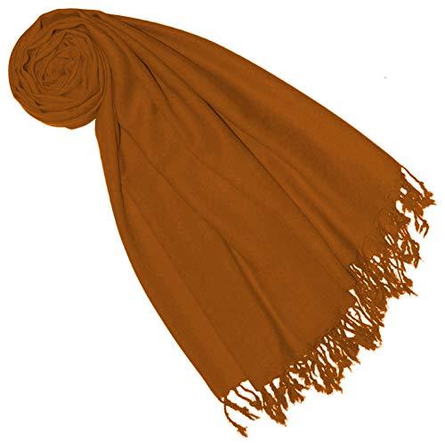 Lorenzo Cana Luxus Pashmina Damen Schal Schaltuch 50% Kaschmir 50% Wolle vom Merino Lamm Wolle Kaschmirschal Wollschal Frauenschal 7856977