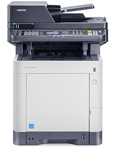 Kyocera Ecosys M6530cdn/KL3 Farblaser-Multifunktionsgerät (Drucker,Scanner,Kopierer, Fax, 600 x 600 dpi, USB 2.0, Duplex)