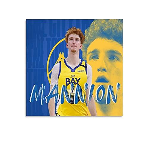 Mannion Niccolo - Póster de baloncesto (70 x 70 cm)