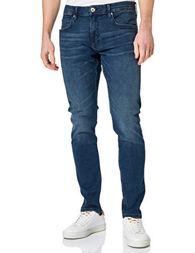 edc by ESPRIT Herren Essential Blue Jeans, 901/BLUE Dark WASH 10, 34W / 34L