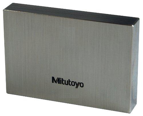 Mitutoyo Steel Rectangular Gage Block, ASME Grade 0, 100 mm Length