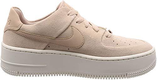 Nike Damen W AF1 SAGE Low Fitnessschuhe, Mehrfarbig (Particle Beige/Particle Beige/Phantom 201), 40 EU