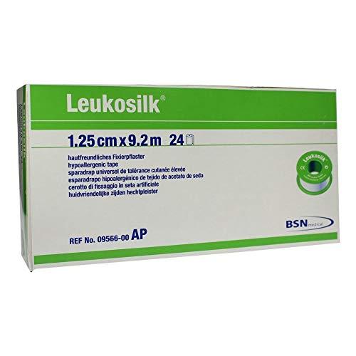 LEUKOSILK 1,25 cmx9,2 m 24 St