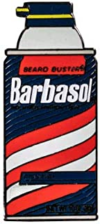 Jurassic Park - Barbasol Shaving Cream Small Enamel Pin