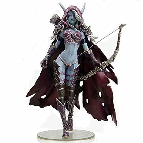 Geyang Action Figure Toys Sylvanas Windrunner Darkness Ranger Lady Wow...
