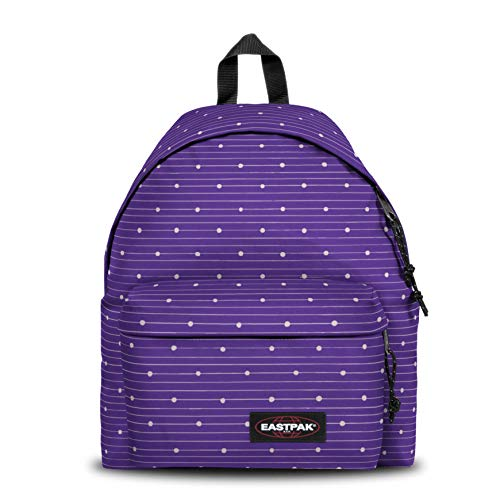 EASTPAK PADDED PAK'R Mochila tipo casual, 40 cm, 24 liters, Morado (Little Stripe)