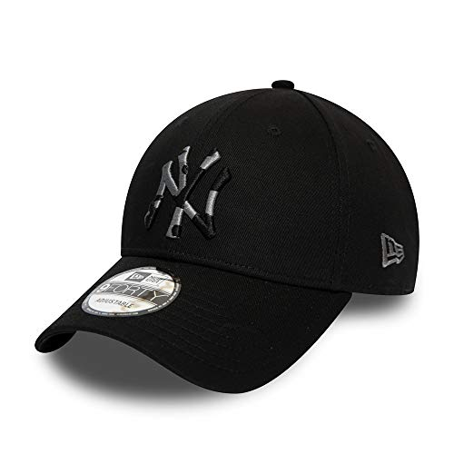 New Era New York Yankees 9forty Adjustable Cap Camo Infill Black - One-Size