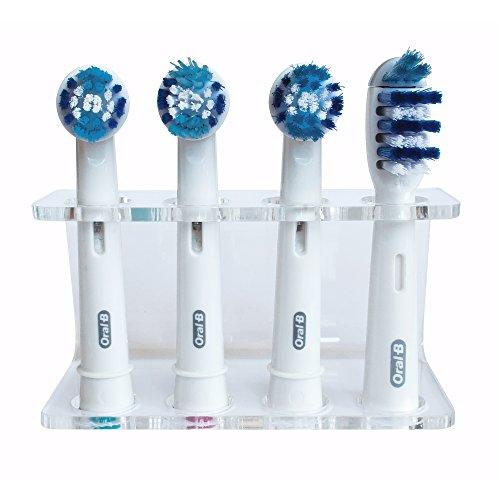 Seemii Soporte de cabezal de cepillo de dientes eléctrico para 4 cabezales...