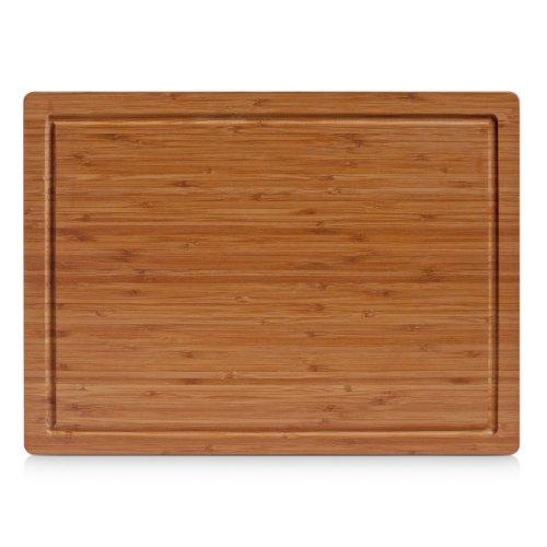 Zeller 25220 Tagliere, Bamboo, Beige, 45x33x1.6 cm