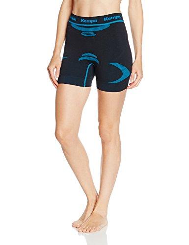 Kempa Erwachsene Bekleidung Teamsport Attitude Pro Shorts Damen, schwarz/kempablau, XS/S