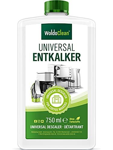 Descalcificador para máquinas de café - 750ml compatible con todas las máquinas