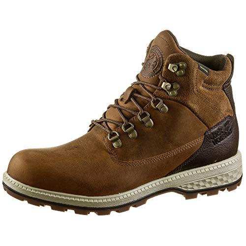 Jack Wolfskin JACK TEXAPORE MID M Wasserdicht Combat Boots Herren, Braun (Desert Brown/Espresso 5213), 45 EU