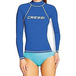 Cressi Lycra Shirt Rash Guard Damen