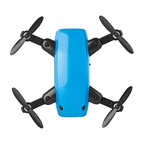 Drone pieghevole con videocamera 5K HD, quadricottero RC con funzione di volo in bilico ad altezza fissa, regolazione della velocità, sensore di gravità, atterraggio/ritorno con un tasto bianco
