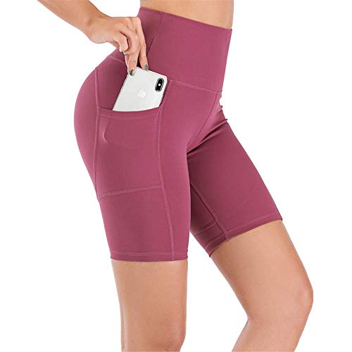 (60% OFF) High Waist Tummy Control Yoga Shorts $8.00 – Coupon Code