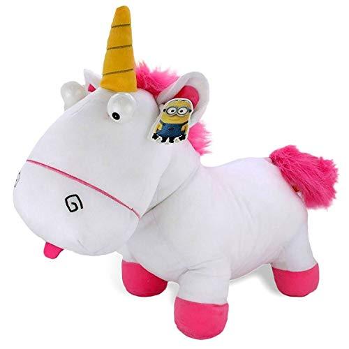 PTS- Unicornio de peluche Agnes de Gru: Mi Villano Favorito, color blanco