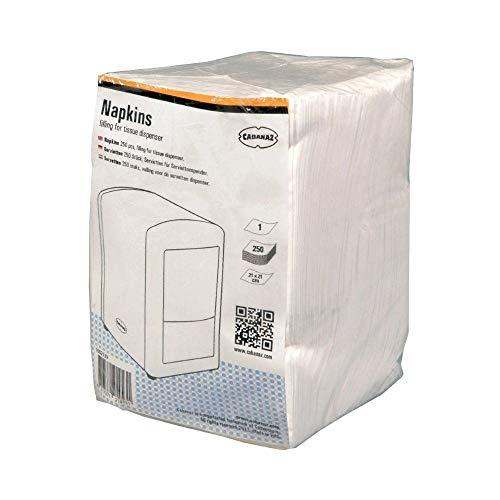 Cabanaz C1002139 - Confezione di 250 salviettine per distributore Cabanaz