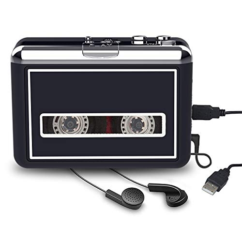 convert tapes Rybozen Cassette Player Converter, Convert Tapes to Digital MP3 Portable Walkman with New Upgrade Convenient Software (AudioLAVA)