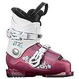 SALOMON(サロモン) スキー ブーツ T2 RT Girly(ティーツー RT ガーリー) L41179600 18 Rose Violet Transluc/White