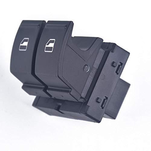 Interruptor eléctrico de ventana, ajuste lateral del conductor para VW Golf MK5, ajuste para Caddy 2K, ajuste para Jetta, ajuste para passat b6 1K3 959 857A-Red