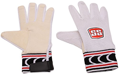 SS CRICKET Wicket Keeping INNER GLOVES CHAMOIS LEATHER