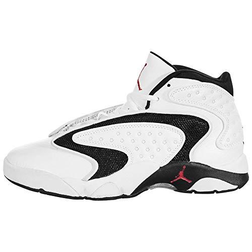 Jordan Air OG, Running Shoe Womens, Blanco/Rojo Universitario/Negro