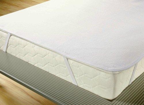 *Wasserundurchlässige Molton Matratzenauflage 3-lagig 70 x 140 cm weiß