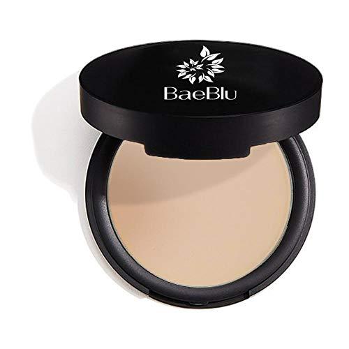 BaeBlu Organic Setting Powder, Extend Makeup Wear Time, Minimize Oil and Pores, Sheer Medium