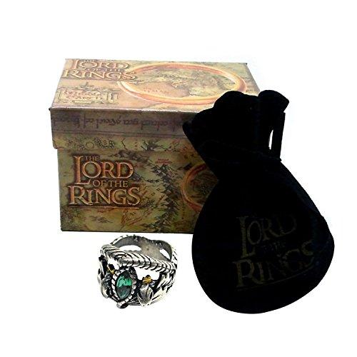 Medioevo El Señor de los Anillos - Anillo de Aragorn 19mm - Lord of The Rings Replica Oficial