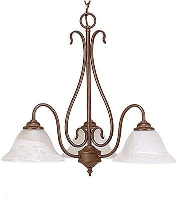 Amazon.com: Millennium 793-sn – Lámpara de techo (3 luces de ...