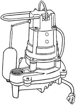 Cast Iron Automatic Pump Los Angeles Mall Effluent Selling and selling