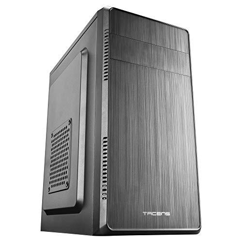 Tacens Anima ACM500, Case PC Micro ATX + Alimentatore PC 500W, Compatta, Alluminio