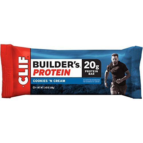 Clif Builder's Protein Bar Cookies Max 86% Some reservation OFF Cream Pack and 12 of
