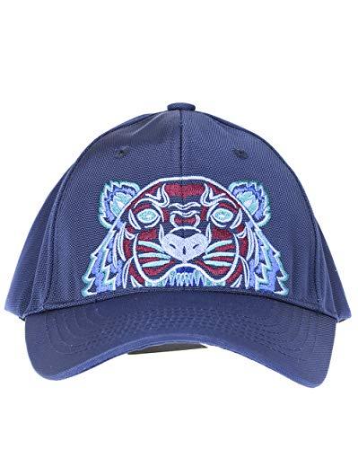 Kenzo Gorra de béisbol unisex con diseño de tigre, color azul y borgoña