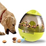 Treat Dispenser Dog Toy,Dog Treat Ball,Food Dispenser-IQ Treat Ball Interactive Feeder Dispensing...