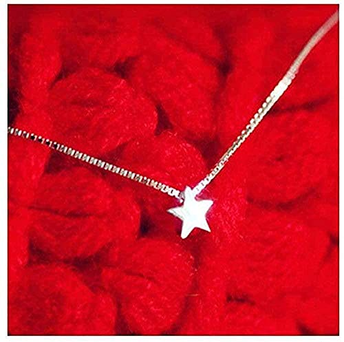 zxcdsaqwe Co.,ltd Collar Estrella Collares Colgantes Collar Llamativo Verano para Mujer