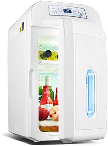 LLYU Voyage Réfrigérateur affichage numérique Contrôle de la température chaud/froid voiture électrique Réfrigérateur Congélateur Rafraîchissez Box 28L 12V 24V 220VSuitable for Truck Driver/Campin