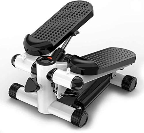 HYCQ Casa, pequeño y Compacto Escalera Paso a Paso Horizontal de torsión de Pasos bajo Impacto Fitness máquina rotativa Paso a Paso para el Muslo Atletas Vertical Escalada para Principiantes
