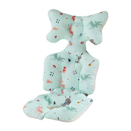 ZZALLLCojín de algodón para Cochecito Colchoneta cálida Almohada para colchón para Dormir Revestimiento para Asiento de Cochecito de bebé - 7#
