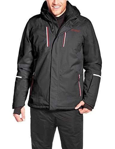 Maier Sports Herren Skijacke Lupus, Black, 50