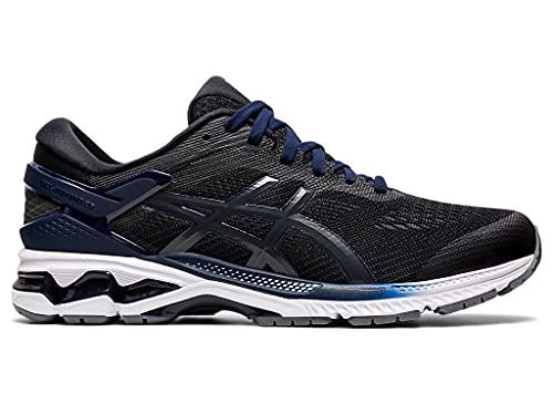 ASICS Men's Gel-Kayano 26 Running Shoes, 10, Black/Black