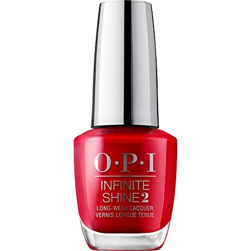 OPI Infinite Shine - Esmalte de Uñas Semipermanente a Nivel de una Manicura Profesional, 'Unequivocally Crimson' Color Rojo - 15 ml